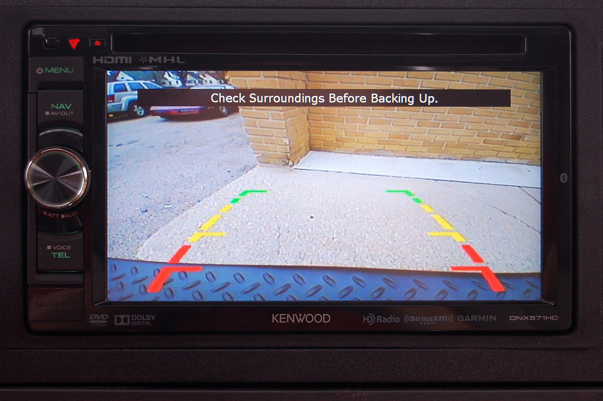 Jeep Commander Rearview Backup Camera - Sound Investment