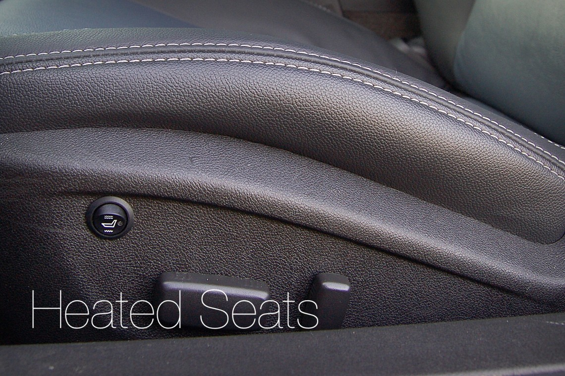 Enjoy earm heated seats