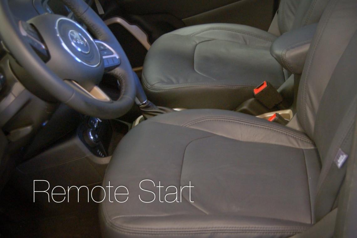 Remote Start with lifetime warranty