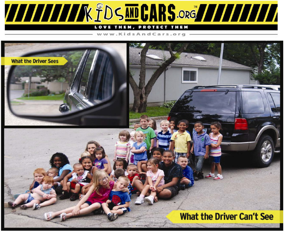 Poster from www.kidsandcars.org