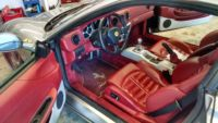 Ferrari with aftermarket stereo system installed at Sound Investment in Columbus Ohio