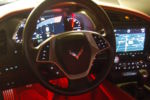 2014 Corvette C7 ambient LED lighting installed at Sound Investment in Columbus Ohio